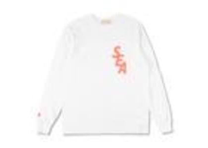 WIND AND SEA S-Dye L/S T-Shirt White / Pink (SS21)の写真