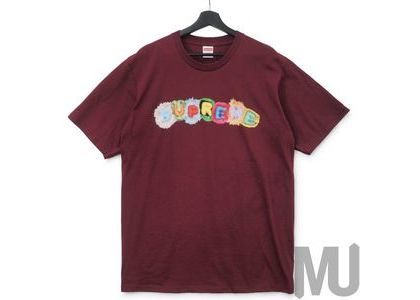 Supreme Pillows Tee Burgundyの写真