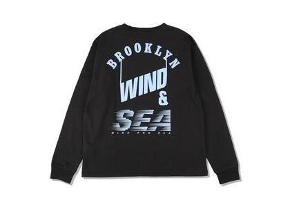 WIND AND SEA D.T.R.T -Bklyn- L/S Tee Jet Black (SS21)の写真