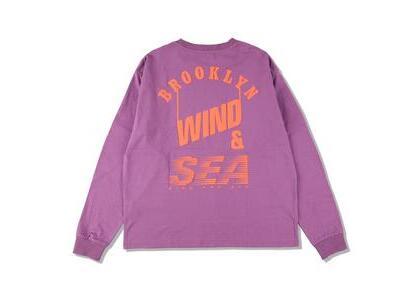 WIND AND SEA D.T.R.T -Bklyn- L/S Tee Purple Haze (SS21)の写真