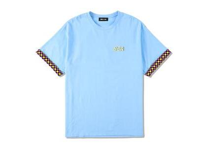 WIND AND SEA D.T.R.T -Motion- Plaid Tee Noon Blue (SS21)の写真
