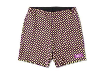 WIND AND SEA D.T.R.T Plaid Shorts Purple-Plaid (SS21)の写真