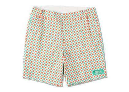WIND AND SEA D.T.R.T Plaid Shorts Nacho-Plaid (SS21)の写真