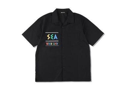 WIND AND SEA Zulu-Tongue S/S Open Collar Shirt Black (SS21)の写真