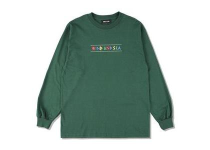 WIND AND SEA Zulu-Tongue L/S Tee Olive (SS21)の写真