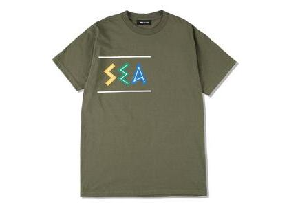 WIND AND SEA Zulu-Tongue Tee Olive (SS21)の写真