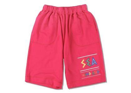 WIND AND SEA Zulu-Tongue Sweat Shorts Pink (SS21)の写真