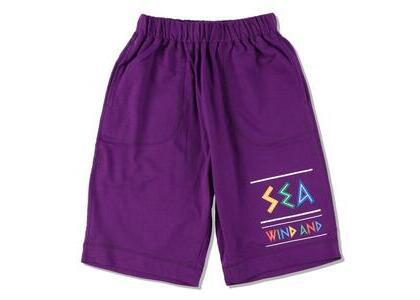 WIND AND SEA Zulu-Tongue Sweat Shorts Purple (SS21)の写真
