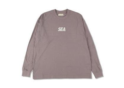 GREENable HIRUZEN × WIND AND SEA L/S Tee Blueberry (SS21)の写真