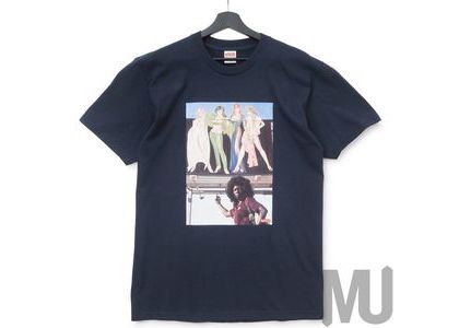 Supreme American Picture Tee Navyの写真