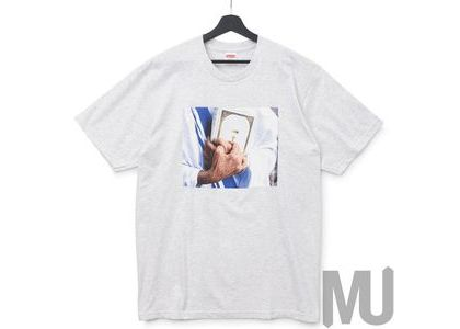 Supreme Bible Tee Ash Greyの写真