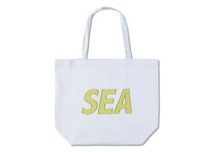 GREENable HIRUZEN × WIND AND SEA Tote Bag Blue Mallow (SS21)の写真
