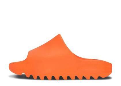 adidas Yeezy Slide Enflame Orange Kidsの写真