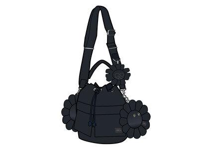 Porter × Kaikai kiki 2Way Tool Bag Blackの写真