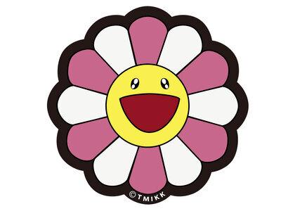 Kaikai kiki Flower Floor Mat Pink / Whiteの写真