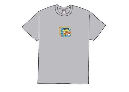 Supreme Cheese Tee Heather Greyの写真