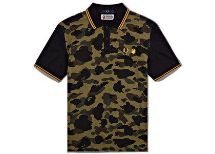 Fred Perry × Bape Polo Shirt Camo (SS21)の写真