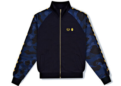 Fred Perry × Bape Track Jacket Blue (SS21)の写真