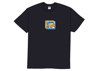 Supreme Cheese Tee Navyの写真