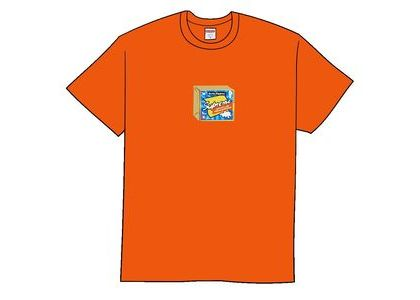 Supreme Cheese Tee Orangeの写真