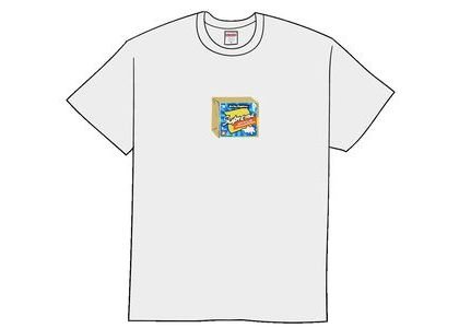 Supreme Cheese Tee Whiteの写真