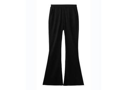 X-Girl Easy Flare Pants Blackの写真