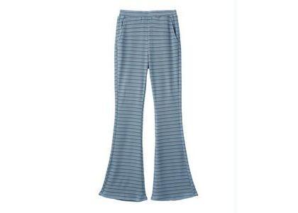 X-Girl Easy Flare Pants Light Blueの写真