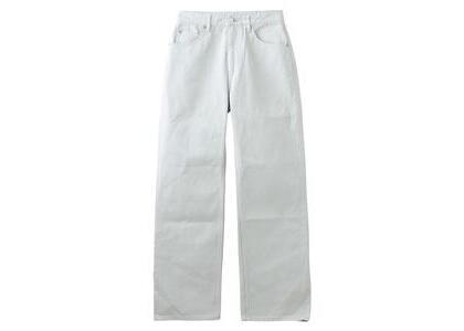 X-Girl High Waisted Loose Fit Pants Light Grayの写真