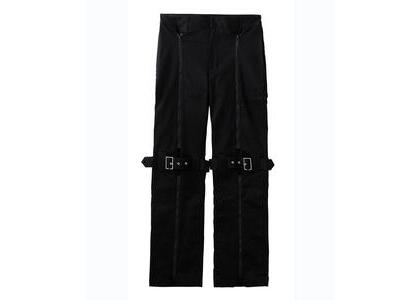 X-Girl Inside Out Bondage Pants Blackの写真