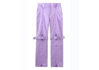 X-Girl Inside Out Bondage Pants Light Purpleの写真