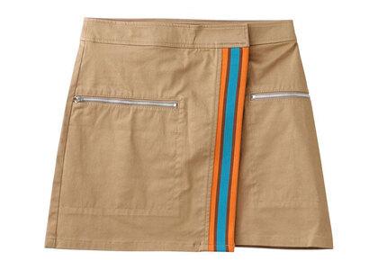 X-Girl Line Wrap Skirt Beigeの写真