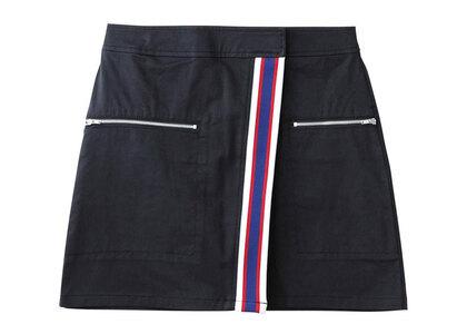 X-Girl Line Wrap Skirt Blackの写真