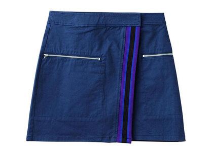 X-Girl Line Wrap Skirt Navyの写真