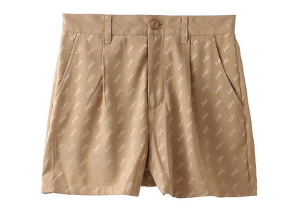 X-Girl Mills Logo Jacquard Short Pants Beigeの写真