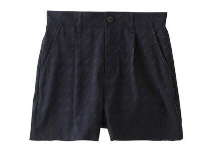 X-Girl Mills Logo Jacquard Short Pants Blackの写真