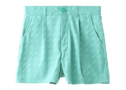 X-Girl Mills Logo Jacquard Short Pants Light Greenの写真