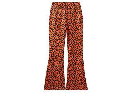X-Girl Multi Pattern Easy Flare Pants Orangeの写真