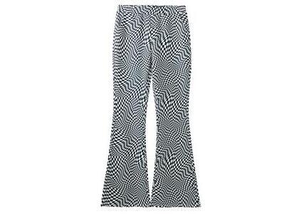 X-Girl Multi Pattern Easy Flare Pants Whiteの写真