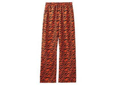 X-Girl Multi Pattern Easy Straight Pants Orangeの写真