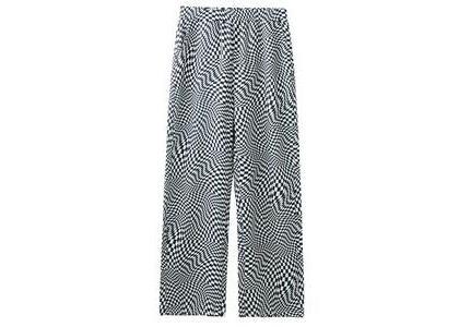 X-Girl Multi Pattern Easy Straight Pants Whiteの写真