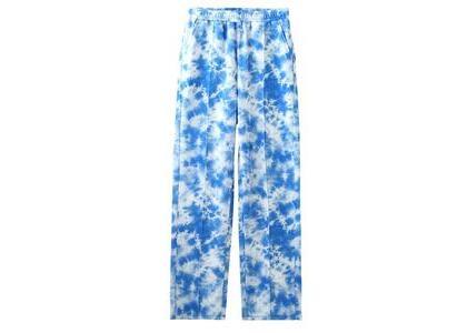X-Girl Multi Pattern Easy Tapered Pants Blueの写真