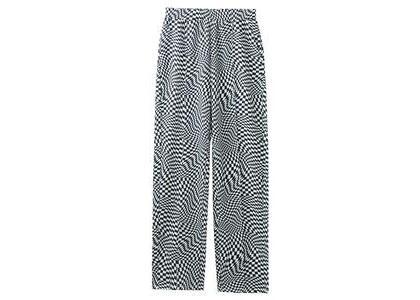 X-Girl Multi Pattern Easy Tapered Pants Whiteの写真