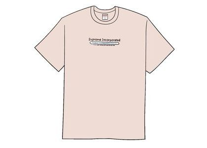 Supreme Inc. Tee Heather Light Pinkの写真