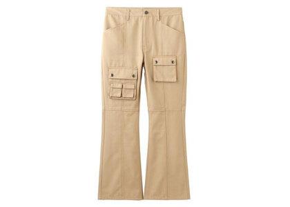 X-Girl Multi PocketS Flare Pants Beigeの写真