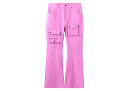 X-Girl Multi PocketS Flare Pants Pinkの写真