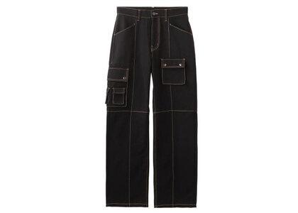 X-Girl Multi Pockets Pants Blackの写真