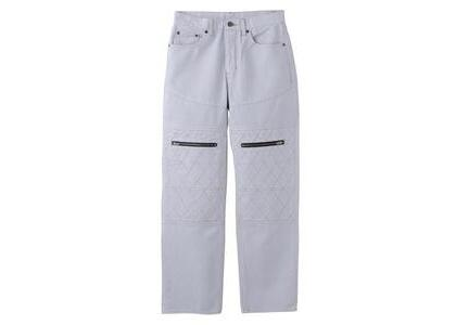 X-Girl Quilted Stitch Pants Grayの写真