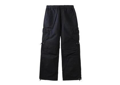 X-Girl Round Pocket Nylon Pants Blackの写真