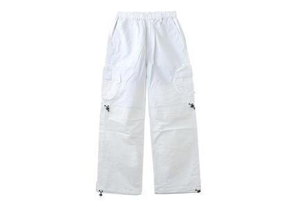 X-Girl Round Pocket Nylon Pants Whiteの写真
