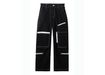 X-Girl Skater Twill Flight Pants Blackの写真